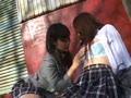 【女子校生レズ】野外でペッティング!③